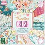 First Edition Paradise Crush Bloc de papier FSC Multicolore 30,5 x 30,5 cm