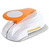 Fiskars 5472P Perforatrice à Levier Cercle Orange Taille M
