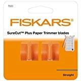 Fiskars 7500 Lames pour Massicot SureCut Plus #4560 Orange