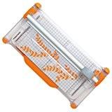 Fiskars 9908 Rogneuse Portable Blanc Diamètre 28 mm 30 cm A4