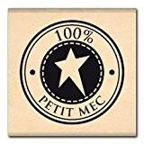 Florilèges Design FB112060 Tampon Scrapbooking Bulle de Petit Mec Beige 4 x 4 x 2,5 cm