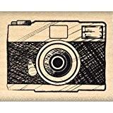 Florilèges Design FC113017 Tampon Scrapbooking Appareil Photo Beige 4 x 5 x 2,5 cm