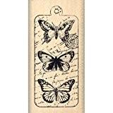 Florilèges Design FC212063 Tampon Scrapbooking Envolée de Papillon Beige 6 x 3 x 2,5 cm