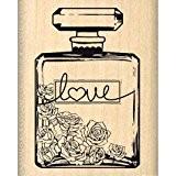 Florilèges Design FC213003 Tampon Scrapbooking Bouteille de Parfum Beige 5 x 4 x 2,5 cm