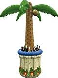 Folat 07492-Palmier Gonflable Jumbo avec ventilateur, Env. 180cm