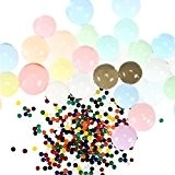 Foonii 20000 pcs Mixed Colors Crystal Water Gel Beads Jelly Water Pearl (Mix)