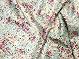 Free Spirit Tanya Whelan avec motif cachemire en popeline tissu quilting Vert-par Fat Quarter + sans Minerva Crafts Craft Guide