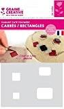 Gabarit pour pâte polymère A5 - Rectangle - Graine créative