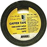 Gaffer Tape Vinyl Black 2In X 30Yds