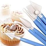 Gâteau décoration Sugarcraft modélisation outils Kit de 8pièces Jaune