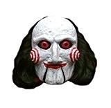 Générique - Mahal766 - Masque Latex Adulte Billy Puppet - Saw - Taille Unique