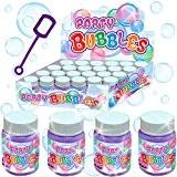 German Trendseller® - 12 x bulles de savon dans le biberon? bulles pour la fête des enfants?petit cadeau? l'anniversaire d'enfant ...