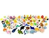 German Trendseller® - 12 x gomme les petits animaux ? en forme d'animaux ? petits cadeaux ? l'anniversaire d'enfant ?zoo ...