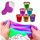 German Trendseller® - 12 x magique mucus? en petit pots?mélange de couleurs ? loisirs créatifs? l'anniversaire d'enfant ? petit cadeau