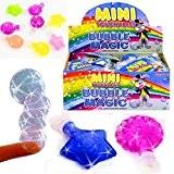 German Trendseller® - 12 x magiques bulles de savon? dans petits biberons?les bulles sont touchables?petit cadeau? l'anniversaire d'enfant ?Party Bubbles