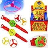 German Trendseller® - 12 x montres d'enfant hélice?petit cadeau ?l'anniversaire d'enfant?jouet volant?24 hélices