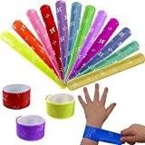 German Trendseller® - 24 x bracelets à claquer colorés?petit cadeau ? l'anniversaire d'enfant? mélange de couleurs