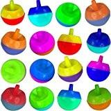 German Trendseller® - 6 x couleurs toupies pour enfants?l'anniversaire d'enfants? petit cadeau