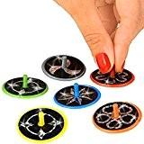 German Trendseller® - 6 x toupies laser pour enfants?l'anniversaire d'enfants? petit cadeau ?scintillent ?mélange de couleurs