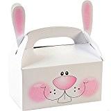 German Trendseller® - 8 x boîtes en carton avec motif de levraut ?avec poignée ? oreille ? l'anniversaire d'enfant? pochette ...