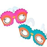 German Trendseller® - lunettes de hibou?yeux de chouette ?petit cadeau ?l'anniversaire d'enfant? le coup sur chauqe fête