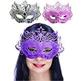 German Trendseller® - masque vénitien fantaisie?Pronyma ?Cosplay? couleurs assortis? carnaval déguisement? bal masqué