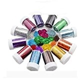Glitter Shakers for Children for Crafts by safeinu