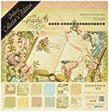 "graphic45 ""Once upon a Springtime Deluxe Double face papier papier cartonné"