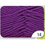 Grundl 3360-14 Pelote de fil à tricoter Coton Fuchsia 50 g