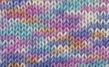 Grundl 771-520 Hot Socks Print Pelote de laine Couleurs pastel Multicolore 50 g
