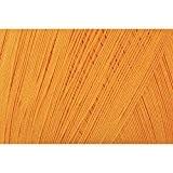 Grundl 813-134 Hakelgarn Pelote de fil à crocheter Orange 100 g