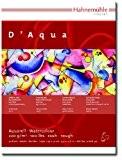 Hahnemühle - D'aqua -Bloc papier pour peinture aquarelle - 36X48cm - 220 g/m²