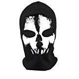 hakkain crâne Cosplay Jeu Paintball Ghosts Cagoule Masque Visage Masque Airsoft Armée