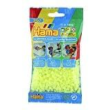 Hama - 207-39 - Loisir Créatif - Midi Sachet 1000 Perles - Jaune Fluo