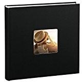 Hama Jumbo Album-photo Fine Art (30 x 30 cm, 100 pages, 50 feuilles, avec encoche pour insertion de la photo) ...