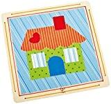 Hape - E5105 - Kit De Loisirs Créatifs - Collage- Bienvenue À La Maison