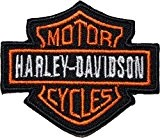 HARLEY DAVIDSON Écusson brodé Badge Patch 6,3 cm coudre ou thermocollant