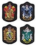 Harry Potter hogwart de badge d'École (Lot de 4), Ravenclaw Poudlard Gryffondor, Serpentard et fer sur écusson brodé à coudre ...