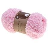 Hengsong Bébé/Enfants Christmas Cadeau Couleurs 48g Pelotes Laine à Tricoter/1 Set Balle Outil/22 Crochets/ Pour DIY Manteau/Pull/Gants/Chapeaux/écharpe (Rose)