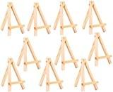 Homgaty 10Mini Artiste Chevalet en bois pour mariage porte nom, nom carte Support Présentoir Support