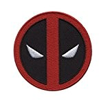 Hook Fastener Deadpool Icon Morale Gear Tactical Patch Écusson Brodé Fixation Crochet Par Titan One Europe