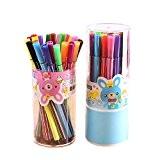 Hosaire 12PCS Crayons de Couleur Aquarelle Marqueur Dessin de Fournitures d'art Cadeau pour les Enfants