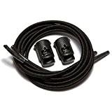 IBungee speedlaces lacets élastiques - Noir (Black) - 96.5 cm