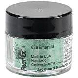 Jacquard Pearl Ex Pigments en poudre 3g-Emerald