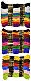 Janlynn 36 écheveaux de fil, couleurs primaires pièces Multicolore