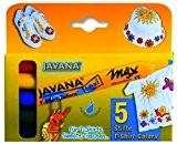 JAVANA 90710-Textile TEXI Mäx Lot de 5