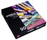 Jaxel - Lot de 90 craies pastels