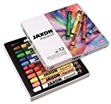 Jaxon Lot de 12 crayons aquarelle Couleurs assorties