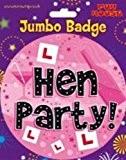 Jumbo badges pour enterrement de vie de jeune fille