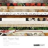 """Kaisercraft """"Bon Appétit Papier Pad, papier, multicolore, 16,5cm"""
